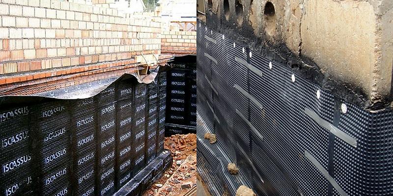 Картинки по запросу гидроизоляция внешних стен подвала